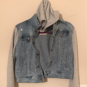 Denim /sweater jacket